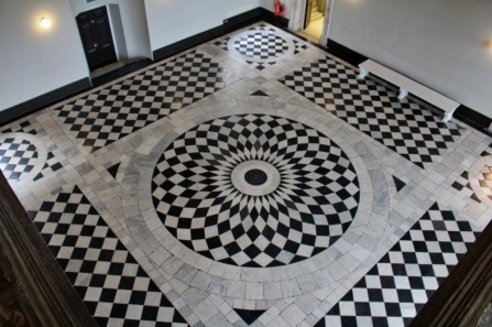 queen's house floor Londres