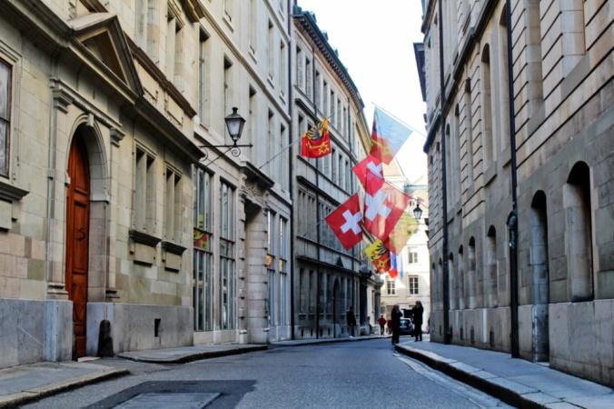 rue vieille ville Genève