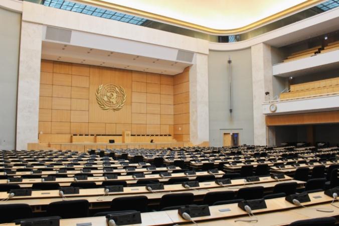 salle ONU Genève