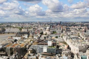 vue sky garden Londres