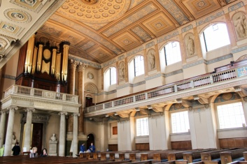 chapelle orgue Greenwich Londres