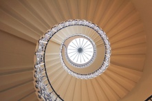 escalier queen's house greenwich Londres