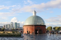 foot tunnel Greenwich Londres