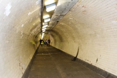 Greenwich foot tunnel Londres