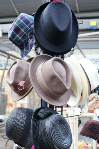 Greenwich market hats