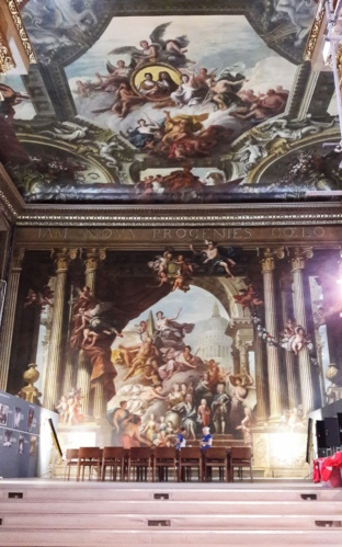 painted hall Greenwich Londres