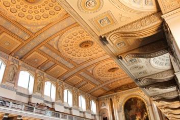 plafond chapelle Greenwich Londres