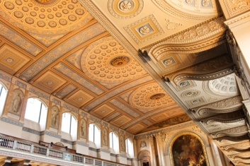 plafond chapelle Greenwich Londres