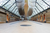 sous le Cutty Sark Greenwich Londres