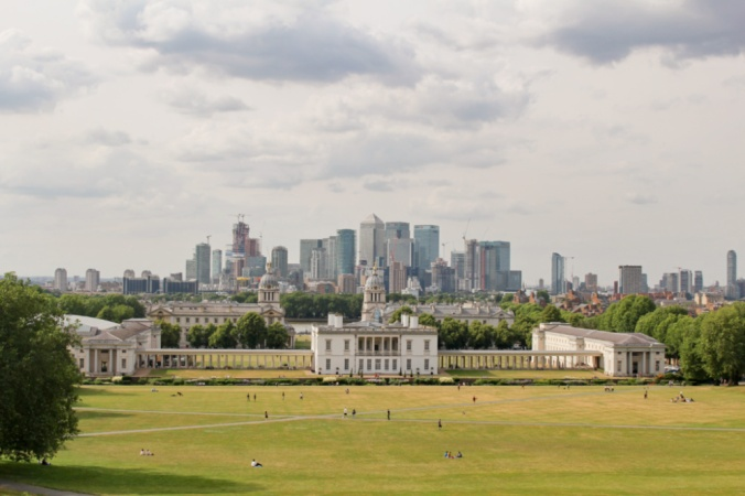 vue Greenwich Londres