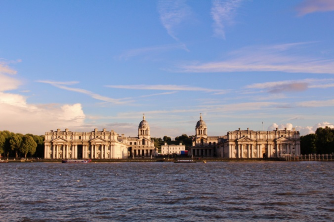 vue isle of dogs Greenwich Londres