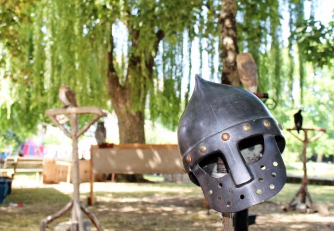 casque chevalier Chauvigny