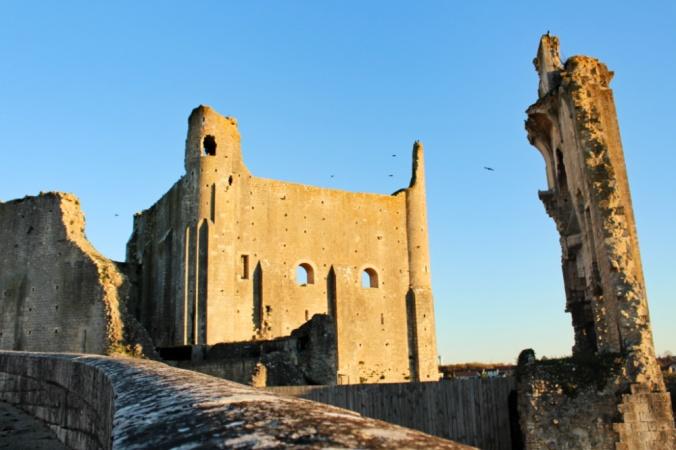 château baronnial Chauvigny