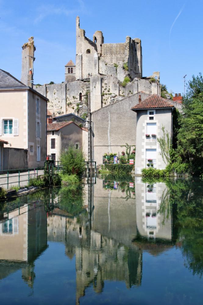 château des évêques Chauvigny