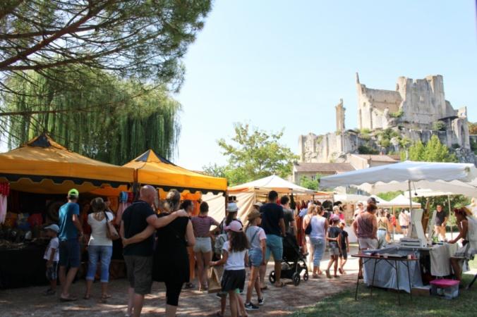 marché médiéval Chauvigny