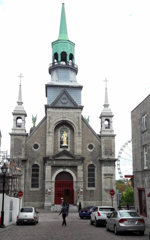 chapelle notre dame bonsecours Montréal