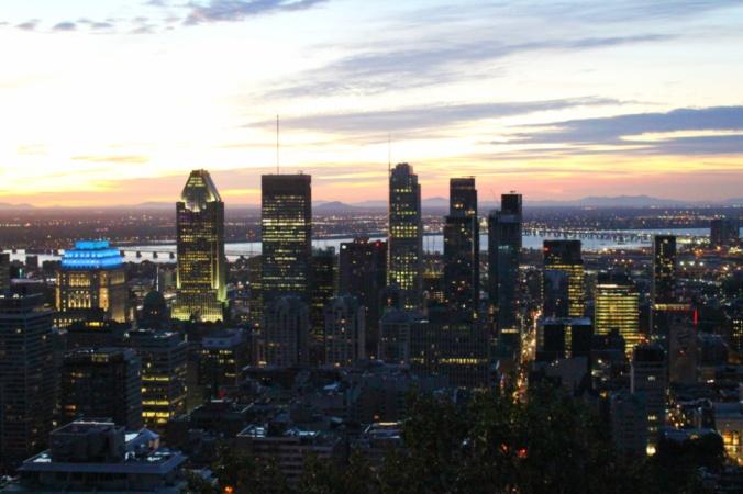 lever de soleil Montréal