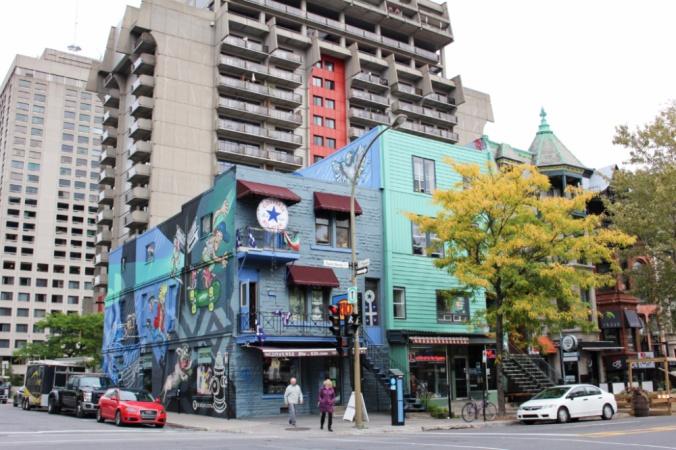 rue saint denis Montréal