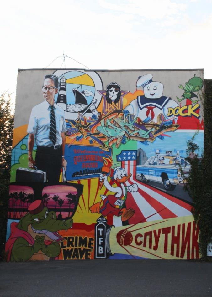street art plateau Montréal