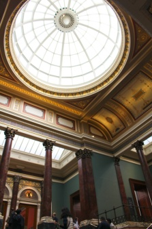 national gallery dome Londres