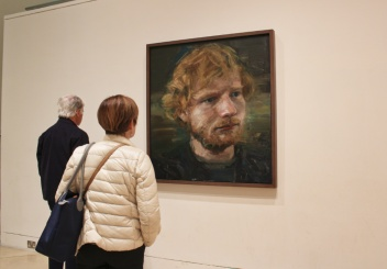 national portrait gallery Ed Sheeran Londres