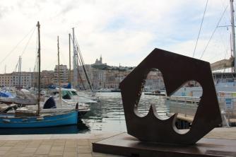 Marseille port