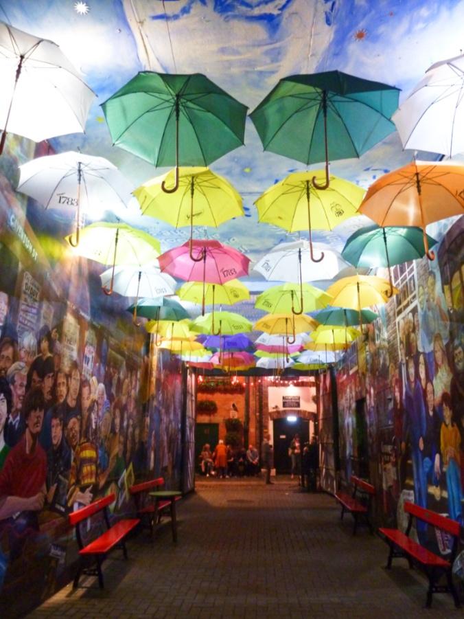 rue parapluies Belfast