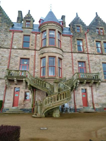 belfast castle escalier irlande du nord
