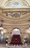 belfast city hall escalier irlande du nord