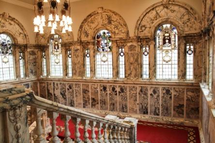 belfast city hall stairs irlande du nord