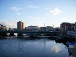 belfast rivière lagan irlande du nord