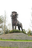 cs lewis square belfast aslan irlande du nord