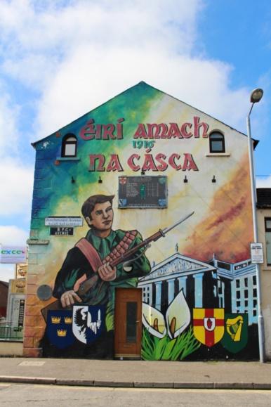 falls road ouest belfast catholique irlande du nord