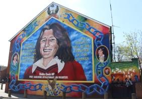 mural bobby sands falls road catholique belfast irlande du nord