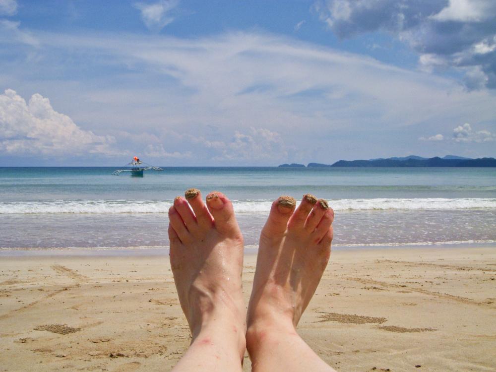 palawan pieds