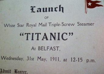 titanic ticket belfast irlande du nord