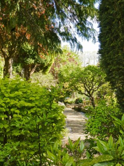 Bourton on the water jardins cachés