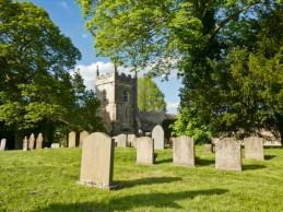 Upper Slaughter église