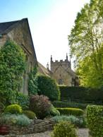 Upper Slaughter jardin
