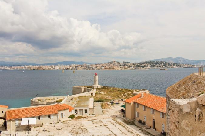 vue toit château d'If Marseille