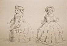 dessin Victoria Kensington palace