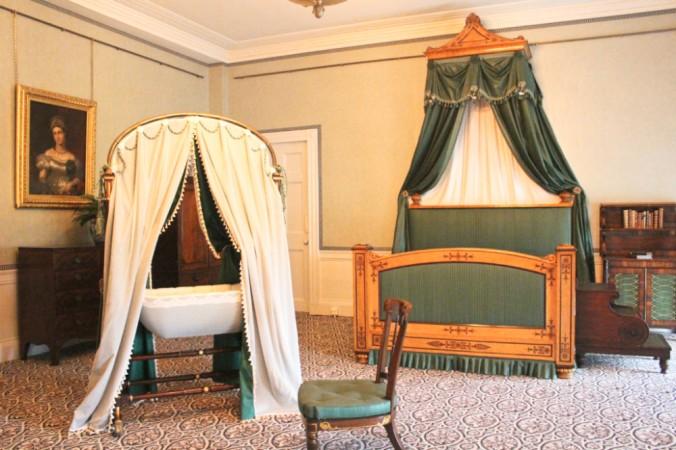 Kensington palace chambre naissance Victoria
