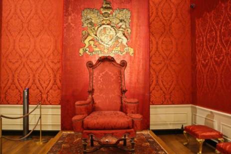 Kensington palace salle d'audience du roi