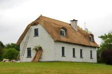 maison toit de chaume Kinvara