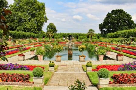 sunken garden Kensington palace