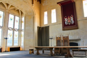 Great hall tables Stirling