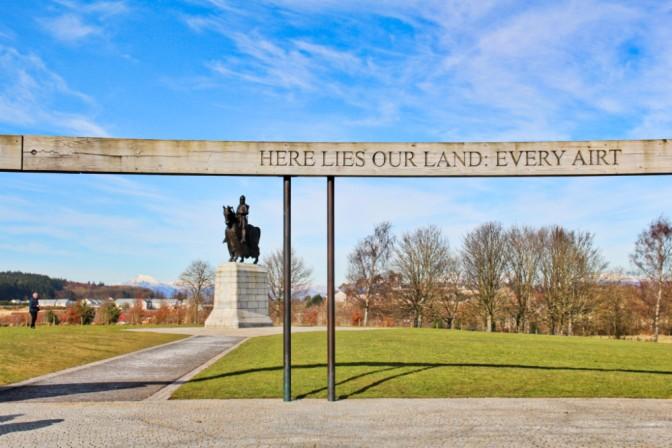 here lies our land Bannockburn