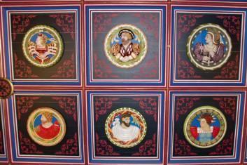 Stirling heads Madeleine de Valois Jacques V Marie de Guise Marc Aurèle César