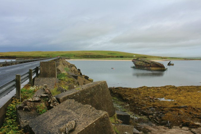Churchill barriers Orkney