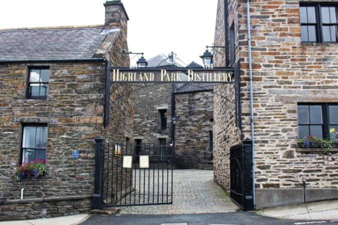 Highland Park Distillerie